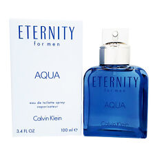 Eternity Aqua Calvin Klein 3.4 oz Men edt Cologne Sealed NIB!!!