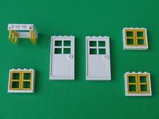New Lego City Friends Creator Modular Town House Doors and Windows Lot Parts Set