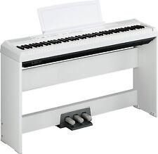 PIANOFORTE YAMAHA P-115 WH CON TASTI PESATI + SUPPORTO + PEDALI - OFFERTA PROMO