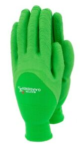 Town & Country Master Gardener Lite Gloves Green in Large Mens UK's Best Seller!