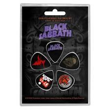 OFFICIAL LICENSED - BLACK SABBATH - PURPLE 5 GUITAR PLECTRUM/PICKS PACK ROCK