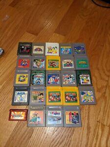 Gameboy games lot