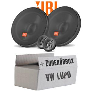 JBL Lautsprecher für VW Lupo Front - 16cm Boxen - Einbausatz - Einbauset - Front