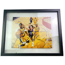 Kobe Bryant 100% Authentic Signed Autographed Framed 8x10 Photo w/ COA LA Lakers