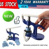 NEW Superior Durable Metal Watch Back Closer Watchmaker Press Repair Kit Tools V
