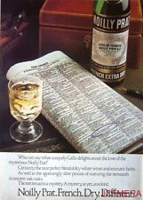 1979 NOILLY PRAT 'French Extra Dry' Vermouth Advert #1 - Original Print AD