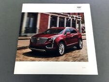 2019 Cadillac XT5 26-page Original Car Sales Brochure Catalog - SRX SUV