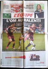 L'Equipe Journal 20/12/2010; L'O.M. au Ralenti/ Muffat championne du monde/ Rugb
