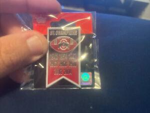 Ohio State Buckeyes 8X Champsioms Banner Pin NCAA