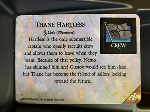 Thane Hartless PR 302 | Pirates of the Mysterious Islands |WizKids Message Promo