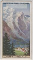 MYTH: Mont Blanc Is In Switzerland 1920s Ad Card