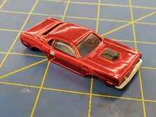 Red Plymouth Hemi Cuda American Line Body HO Mid-America AML B458-R