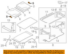 VW VOLKSWAGEN OEM 11-17 Touareg Sunroof-Mount Kit 7P0898955