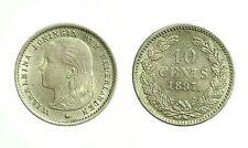 pcc1643_21) NETHERLANDS - OLANDA   WILHELMINA I  10 cents 1897  Toned