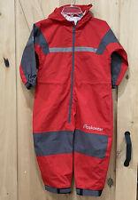 Oakiwear one piece rain suit RED Children Size 8/9