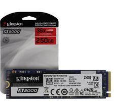 Kingston 250GB A2000 M.2 2280 Nvme Internal SSD PCIe Up t 2000MB/s SA2000M8/250G