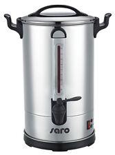 EDELSTAHL GASTRO Rundfilter Kaffeemaschine 100 Tassen keine Filter benötigt