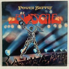 "BUDGIE ""Power Supply"" Original 1980 LP UK Pressing w/ Insert RCA Records"