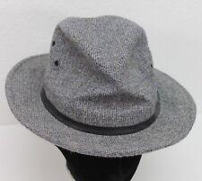 "Vintage Mens Pendleton 100% Virgin Wool Hat Fedora Union Made USA Small 21.5"""