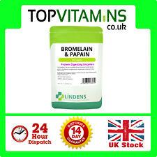 broméline 10mg & PAPAÏNE 1000mg 100 comprimés ✰ Protéine Digestion enzymes