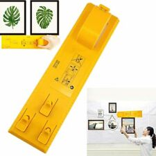 Picture Hanging Tool Frame Hanger  Easy Wall Photo Hanging Level Ruler