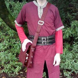 Satchel Shoulder Bag Medieval Alchemy Arsenal Alchemist For Larp Costume Designs
