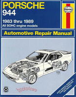 944 PORSCHE SHOP MANUAL SERVICE REPAIR BOOK 924S HAYNES CHILTON WORKSHOP