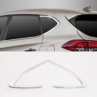 Chrome C Pillar Molding Trim Garnish 2p For 2016 2020 Hyundai Tucson : ALL NEW