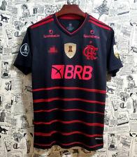 Libertadores 3 patch Full sponsor Flamengo 2020 third Soccer Jersey