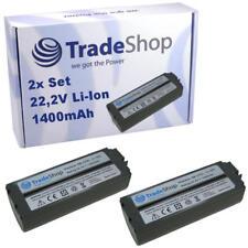 2x Premium AKKU 22,2V 1400mAh Li-Ion für Canon Selphy CP-2L CS-CP2 NB-CP2LH