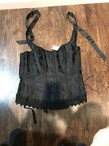 black corset lingerie Size 40
