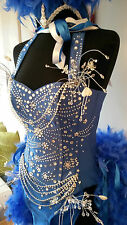 Kylie showgirl corset costume  810 12 14 made to measure tribute artist quality