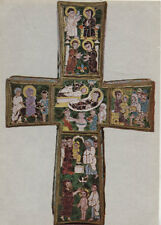Alte Kunstpostkarte - Kreuz aus der Kapelle Sancta Sanctorum im Lateran