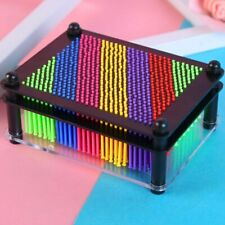 Rainbow 3D Plastic Pin Art Picture Impressions Gadget Frame Classic Children Toy