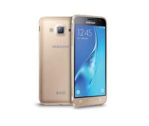 Samsung Galaxy J3 2016 in Gold Handy Dummy Attrappe - Requisit, Deko, Werbung
