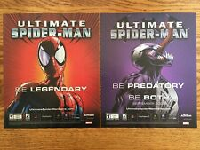 Ultimate Spider-Man Playstation 2 PS2 Xbox Gamecube Vintage Poster Ad Art Print