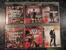 PS3 GTA IV 4 def jam icon red dead redemption tomb raider GTA V saints row thir