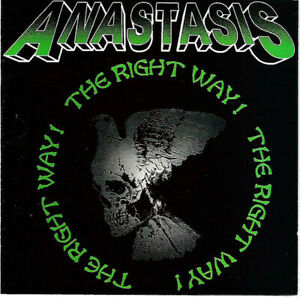 Anastasis ‎– The Right Way !      new cd    punk