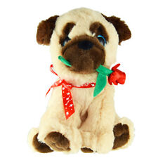 Pugs & Kisses Love Stuffed Pug Dog Toy, Gift ideas for Him or Her - Rose