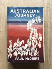"1946 ""Australian Journey"" By Paul Mcguire History Australiana Aboriginal"