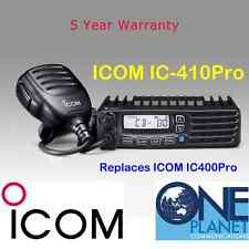 Icom IC-410Pro (Replaces IC400Pro) 80 Channel UHF CB Radio - 5 YEARS Warranty