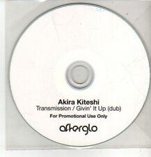 (CM835) Akira Kiteshi, Transmission / Givin' It Up (Dub) - DJ CD