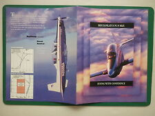 PLAQUETTE 4 pages RAYTHEON AIRCRAFT BEECH HAWKER BEECH PILATUS PC9 MKII