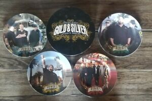 PAWN STARS 4 PLATE COLLECTION PLUS BOX!