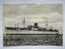 NAVE M.N. ANNA C Costa Line ship Lloyd liner vecchia cartolina