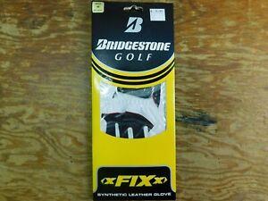 Bridgestone Men's Regular Right Hand Regular Medium Golfing Gloves RED/WHT/BLK