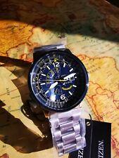 Citizen Promaster Nighthawk BJ7006-56L 200WR Eco Drive Dual-Time Pilot Watch