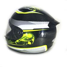Cascos talla S de motocicleta fibra de vidrio para conductores