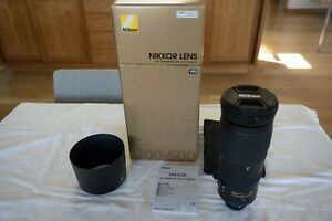 Nikon 200-500mm f/5.6AF-S E ED VR Lens-Excellent condition! w/LowePro Case!
