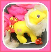 ❤️My Little Pony MLP G1 Vtg Peek-a-Boo BABY SNIPPY Yellow Scissors❤️